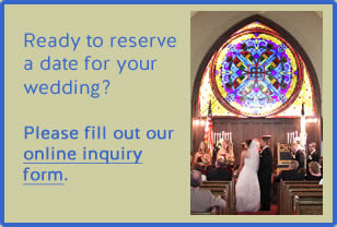 Ready to Reserve your Wedding?